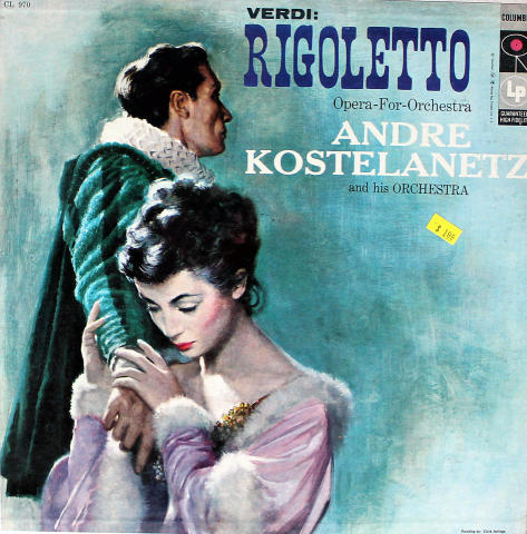 """Andre Kostelanetz and His Orchestra Vinyl 12"""""""
