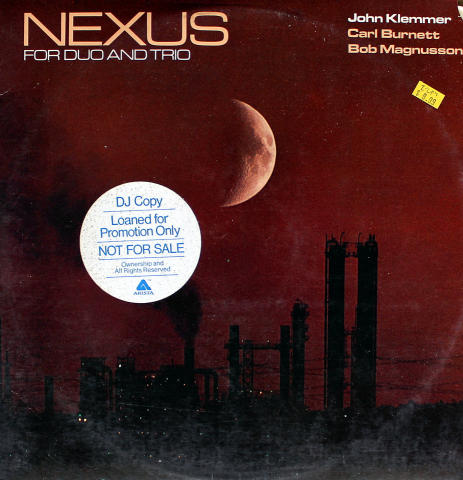 """John Klemmer / Carl Burnett / Bob Magnusson Vinyl 12"""""""