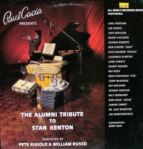 "The Alumni Tribute To Stan Kenton Vinyl 12"""