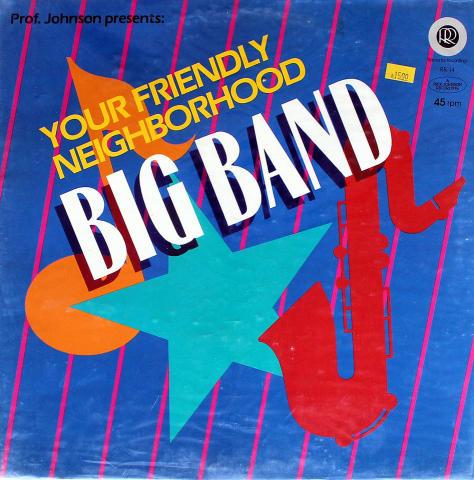 """Your Friendly Neighborhood Big Band Vinyl 12"""""""