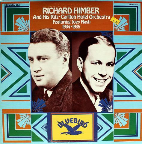 "Richard Himber And His Ritz-Carlton Hotel Orchestra Vinyl 12"""