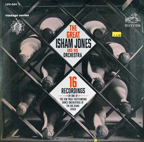 "The Great Isham Jones And His Orchestra Vinyl 12"""