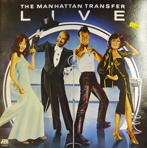 The Manhattan Transfer Vinyl 12""