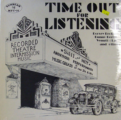 """Time Out for Listening Vinyl 12"""""""