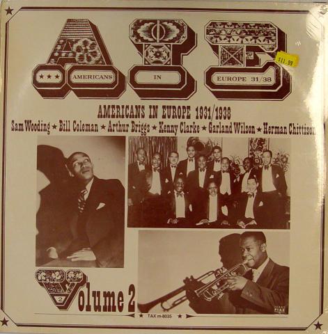 """AIE: Americans In Europe 31/38 Vinyl 12"""""""