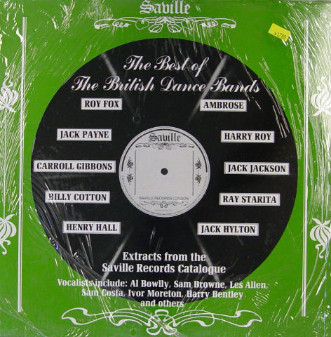 The Best of The British Dance Bands Vinyl 12""
