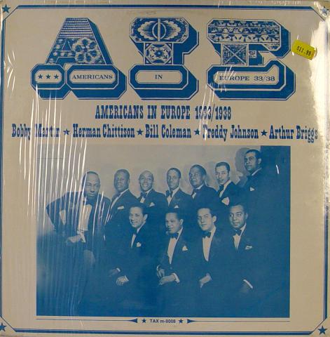 """AIE: Americans In Europe 33/38 Vinyl 12"""" (New)"""