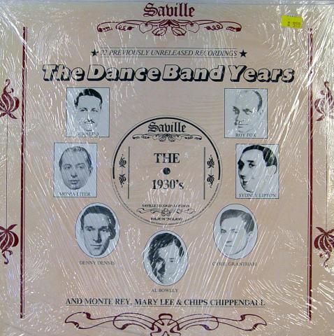 "The Dance Band Years Vinyl 12"""