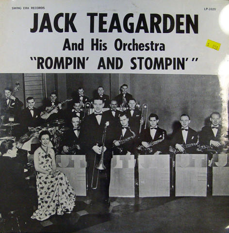 """Jack Teadarden And His Orchestra Vinyl 12"""""""