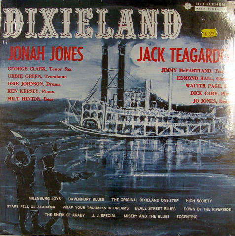 "Jonah Jones and Jack Teagarden Vinyl 12"""