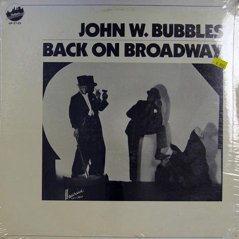"""John Bubbles Vinyl 12"""""""