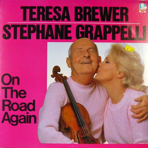 "Teresa Brewer / Stephane Grappelli Vinyl 12"""