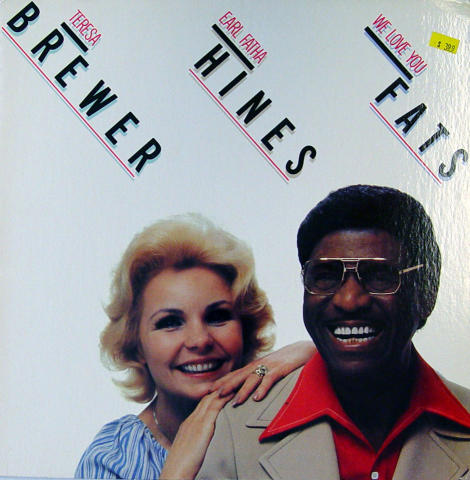 "Teresa Brewer / Earl ""Fatha"" Hines Vinyl 12"""