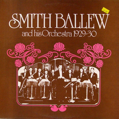 """Smith Ballew And His Orchestra Vinyl 12"""""""