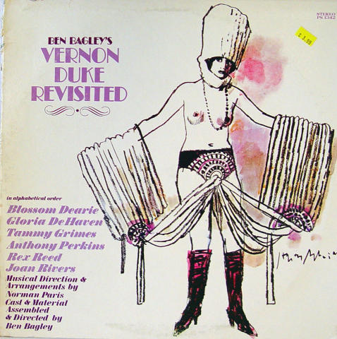 """Vernon Duke Revisted Vinyl 12"""""""