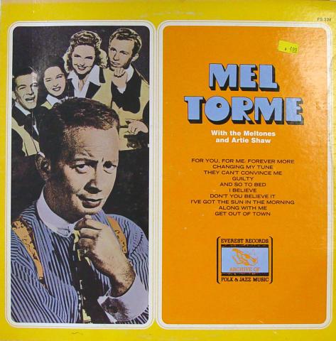 """Mel Torne Vinyl 12"""""""