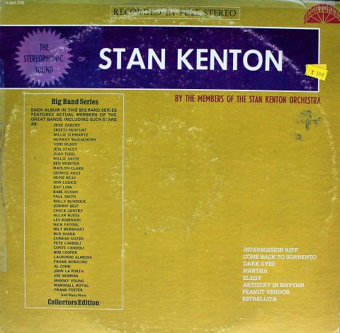 "Members Of The Stan Kenton Orchestra Vinyl 12"""