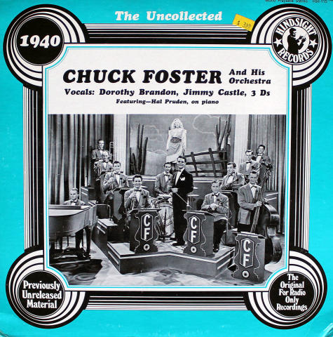 """Chuck Foster And His Orchestra Vinyl 12"""""""