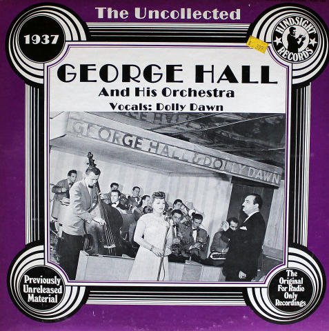 """George Hall And His Orchestra Vinyl 12"""""""