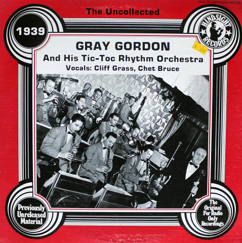 Gray Gordon And His Tic-Toc Rhythm Orchestra Vinyl 12""