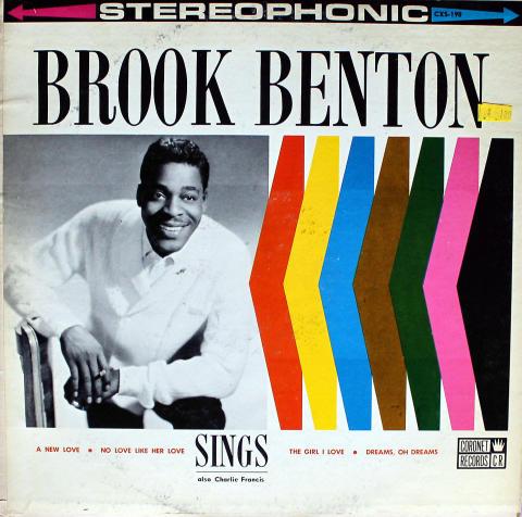 "Brook Benton / Charlie Francis Vinyl 12"""