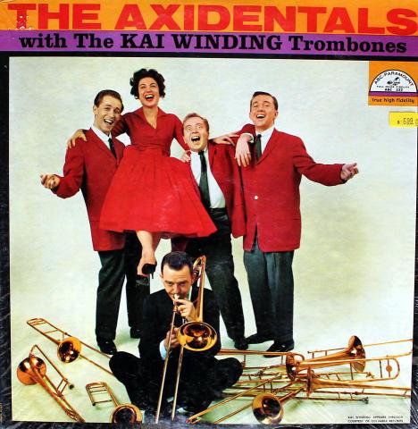 "The Axidentals With The Kai Winding Trombones Vinyl 12"""