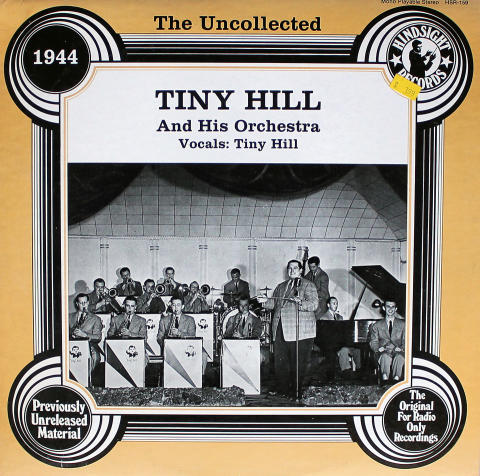"""Tiny Hill And His Orchestra Vinyl 12"""""""