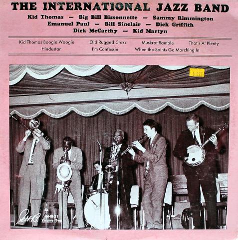"The International Jazz Band Vinyl 12"""