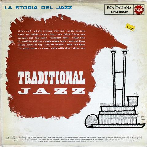 "Original Dixieland Band Vinyl 12"""