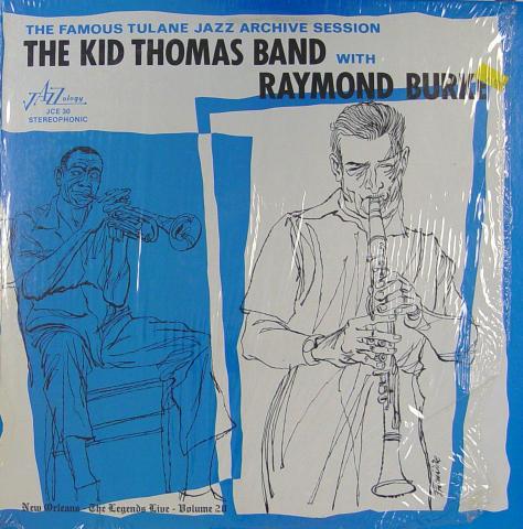 "The Kid Thomas Band Vinyl 12"""