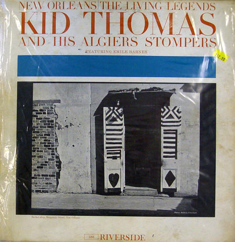 """Kid Thomas And The Algiers Stompers Vinyl 12"""""""