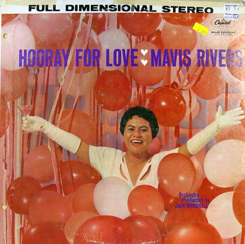 "Mavis Rivers Vinyl 12"""