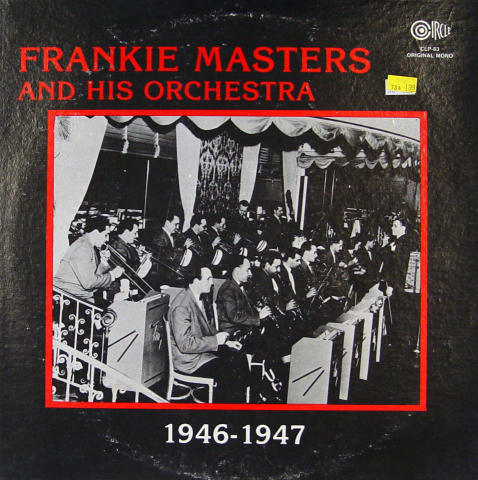 """Frankie Masters And His Orchestra Vinyl 12"""""""