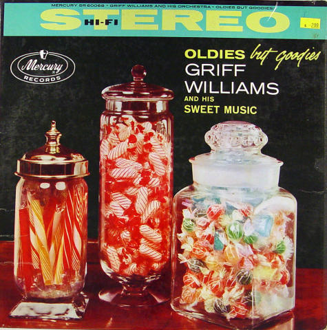 """Griff Williams And His Sweet Music Vinyl 12"""""""