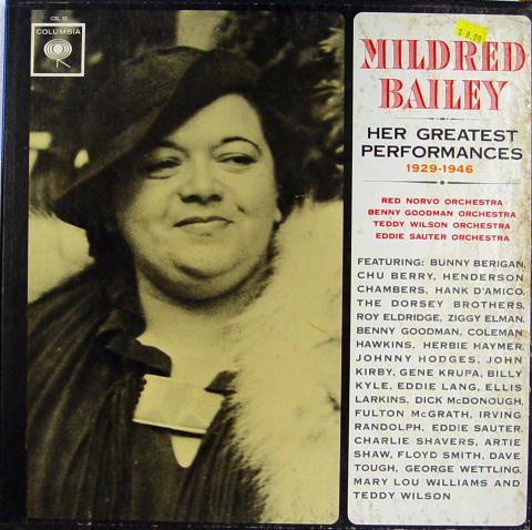"Mildred Bailey Vinyl 12"""