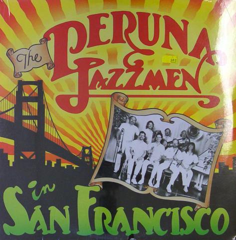 "The Peruna Jazzmen Vinyl 12"""