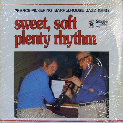 "Pearce-Pickering Barrelhouse Jazz Band Vinyl 12"""
