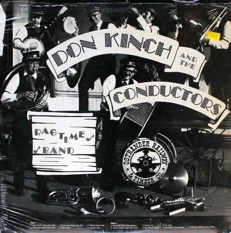 """Don Kinch And The Conductors Ragtime Band Vinyl 12"""""""
