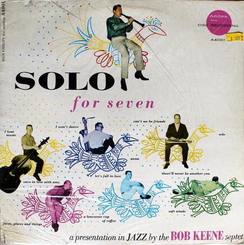 """Bob Keene Septet Vinyl 12"""""""