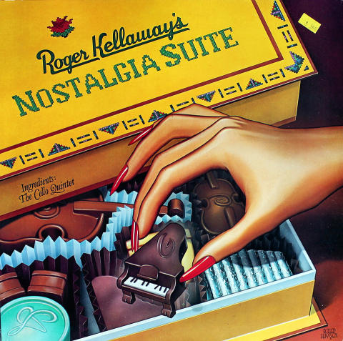"Roger Kellaway & The Cello Quintet Vinyl 12"""