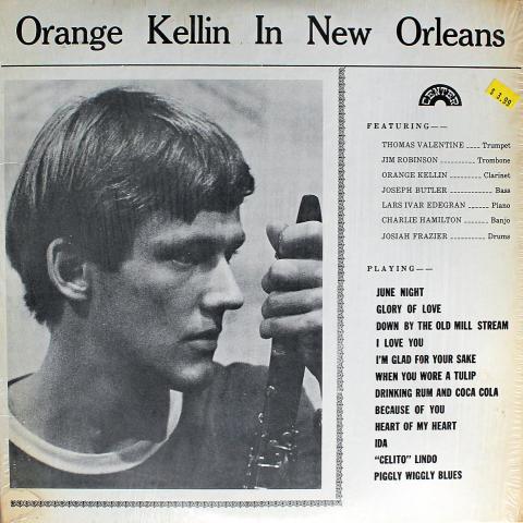 """Orange Kellin Vinyl 12"""""""
