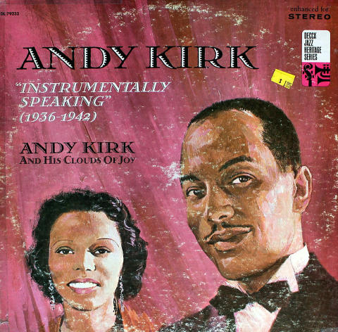 """Andy Kirk And His Clouds Of Joy Vinyl 12"""""""