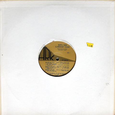 "North Park Elementary Choirs Vinyl 12"""