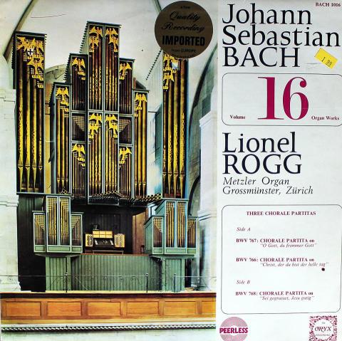 """Organ Works: Volume 16 Vinyl 12"""""""