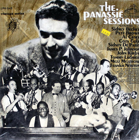 The Panassie Sessions Vinyl 12""
