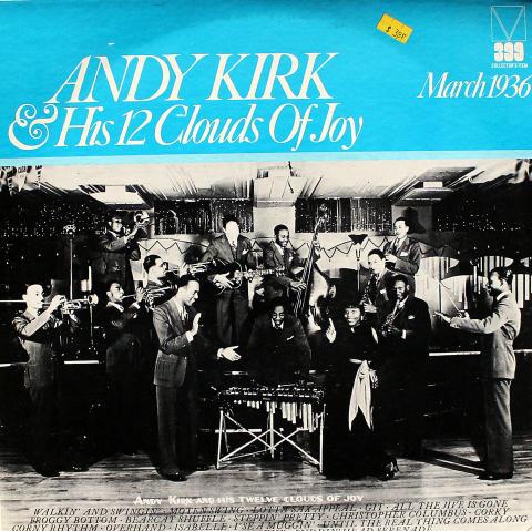 """Andy Kirk & His 12 Clouds Of Joy Vinyl 12"""""""
