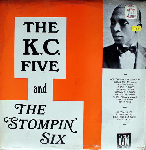 """The K.C. Five And The Stompin' Six Vinyl 12"""""""