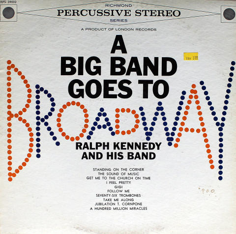 Ralph Kennedy And His Band Vinyl 12""