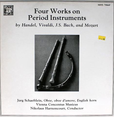"""Handel / Vivaldi / J.S. Bach / Mozart Vinyl 12"""""""
