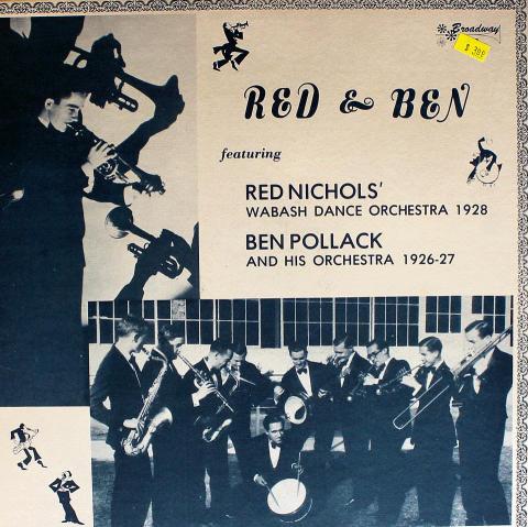 "Red Nichols / Ben Pollack Vinyl 12"""